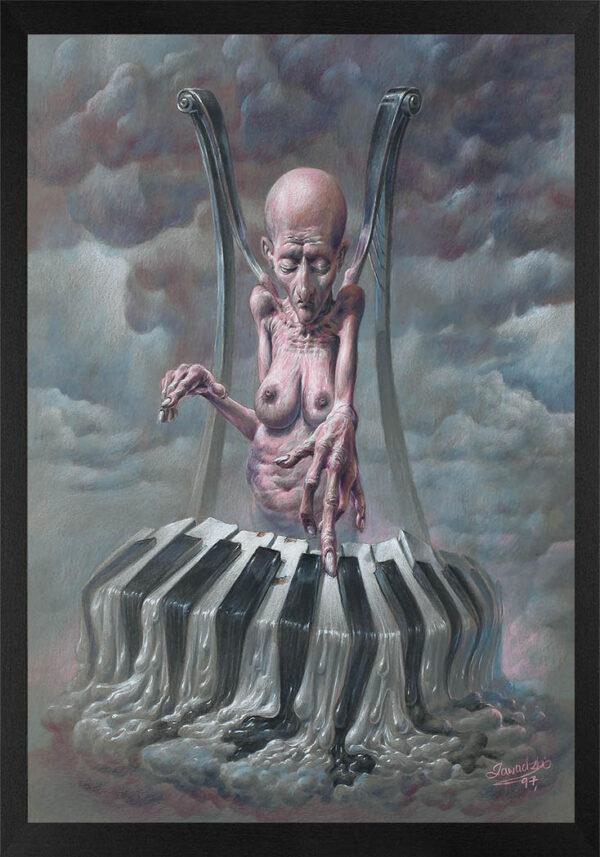 Dariusz Zawadzki - rysunek bez tytułu